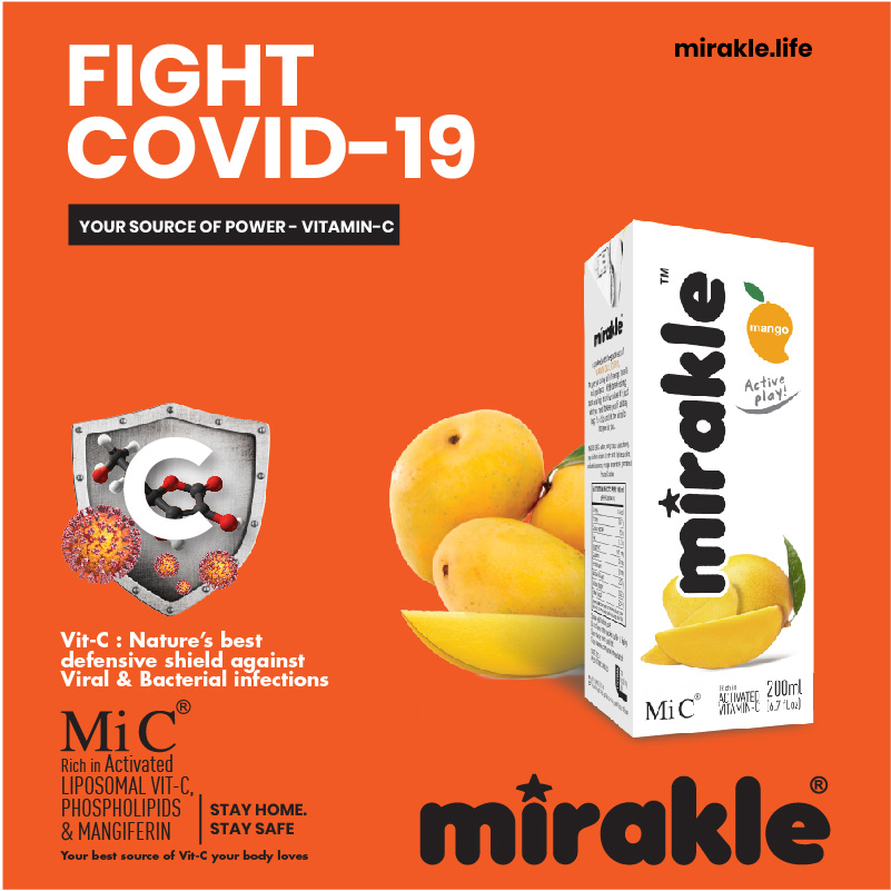 Fight Covid-19 with mirakle